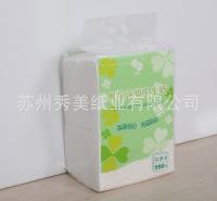 家用平板卫生纸 加韧 厚实压花擦手纸 厂家批发