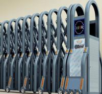 电动大门 企业自动大门 工厂电动门 不锈钢电动伸缩门安装