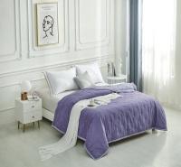 可水洗空调被夏凉被单人双人薄被子 床盖式天丝绗缝被可定制