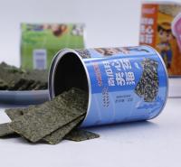 夹心海苔 即食桶装海苔 南瓜籽夹心海苔价格