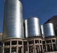 钢板仓   大型钢板库  厂家定制水泥库
