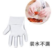 外卖防漏油餐饮手套  一次性手套加厚  量大从优