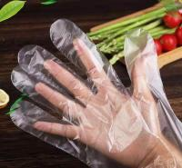 一次性加厚PE透明手套  美团饿了么外卖手套  厂家直销