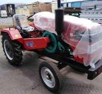 潍坊单缸24马力拖拉机 28马力潍坊小型四轮拖拉机价格  潍坊24马力32马力单缸拖拉机人字纹轮胎