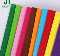 彩色无纺布 彩色毛毡布 针刺布毛毡 服装家居家纺用布 儿童DIY可加工面料