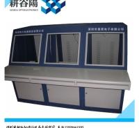 琴式控制 台双联单联 琴台 琴式操作台 琴台监控台 琴台液晶屏台