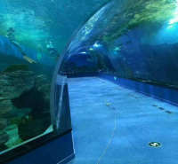 厂家定制大型亚克力鱼缸 大型水族箱定做 海洋馆观赏水族箱定做