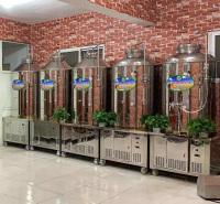 500L精酿啤酒设备 扎啤机小型酿酒机械 发酵罐果酒各类酒类