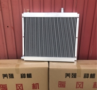 大棚暖风机 口琴式散热器供货商 养殖取暖设备