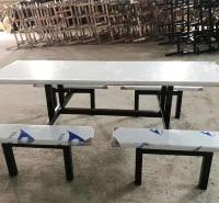 不锈钢餐桌椅 中餐厅餐桌椅 食堂专用餐桌椅 广杰支持定制