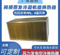 间接蒸发冷凝机组(风力发电空冷)换热器
