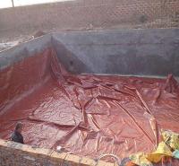 软体沼气发酵池 定制 可移动 红泥储气罩