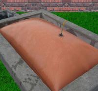 红泥储气罩 地上 便携 红泥储气罩