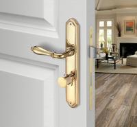 铜铝合金门锁欧式执手锁 铜合金门锁910.X6.256