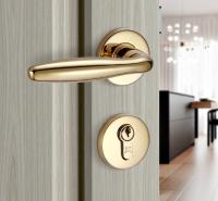 室内静音不锈钢执手门锁 连体门锁911.83.350