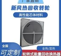 轮转式能量回收换热器