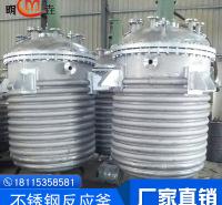 不锈钢外盘管反应釜 内盘管 外加套 实验室反应釜