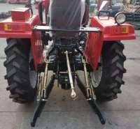 莱动KM138单缸小四轮拖拉机泰山-280  28马力潍坊小型四轮拖拉机宽距人字纹轮胎