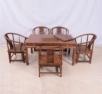 145茶桌圈椅六件套
