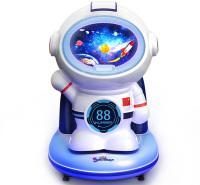 摇摇车新款2020投币儿童商用电动科幻太空人宝宝音乐摇摆机