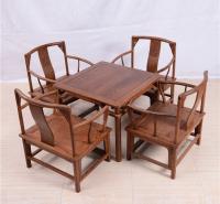 小方桌圆南宫椅五件套