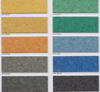 浙江省幼儿园地胶 纯色地胶 进口PVC地板 吸音型塑胶地板
