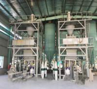 中力众鼎 半自动干粉砂浆成套设备 干粉砂浆生产机器 自动出料