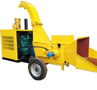杂树枝粉碎机 干树枝粉碎机 柴油移动树枝粉碎机价格