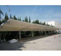 学校膜结构雨棚加工定制 批发膜结构羽毛球场雨棚