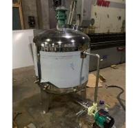河北自动加热温度控制反应釜  自动加热温度控制反应釜厂家 噪音低,运行平稳