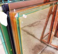 彩釉玻璃 彩色数码打印玻璃 可钢化打印玻璃 不褪色彩釉玻璃