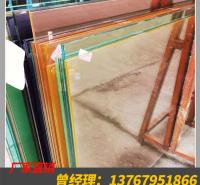 彩釉钢化玻璃定制价格 防爆钢化玻璃厂家批发