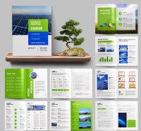 锁线胶订画册 济南画册宣传册印刷  企业画册设计制作  金鼎
