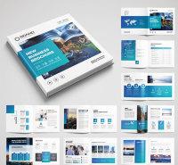 济南  长期供应画册印刷 产品样品画册 宣传册加工厂 支持来图定制