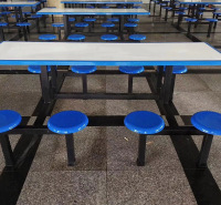 定制加工学校餐厅餐桌 不锈钢食堂餐桌椅 单位食堂餐桌