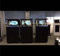 厂家直销19寸180度全息投影展示柜