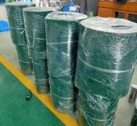 PVC挡板输送带  章丘华锋橡塑 横条纹防滑带 环形 批发价格