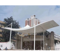 定制大型膜结构景观建筑 工厂园区膜结构体育馆建筑
