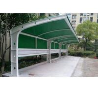 膜结构站台棚 候车通道钢膜结构顶篷 张拉膜过道蓬