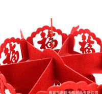毛毡小灯笼挂饰盆景新年装饰室内户外场景布置春节创意迷你小挂件