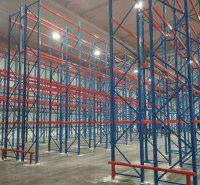 威海横梁式货架重型托盘货架 大型仓储库房重型置物架 货架定制