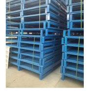 厂家批发仓储钢制托盘 金属托盘定制 两面叉车钢重型货架地托盘