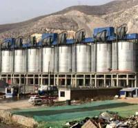 大型钢板库  定制水泥仓  粉煤灰钢板库