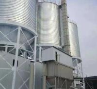 定制水泥库 大型钢板库 钢板库建设