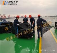甲板船舱防滑垫  凯东供货带孔船舱橡胶垫 耐磨疏水船舶垫 黑色绿色彩色甲板垫
