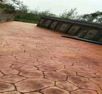娄底 压模地坪价格 彩色印花报价 水泥地面厂家 彩色混凝土模具 普林德建材