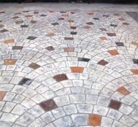 南京 压模地坪施工 压花艺术地坪 水泥地面厂家 艺术混凝土模具 普林德建材