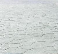 娄底 压模地坪多少钱一平米 艺术路面施工 彩色强化料道路 水泥混凝土价格 普林德建材
