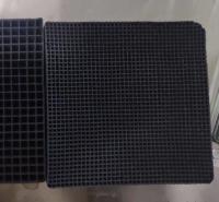 废气处理 耐水型蜂窝活性炭 高碘值 大孔径 现货供应