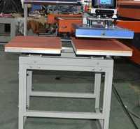 新款竖放双工位热转印自动烫钻机标机手动锦压烫机